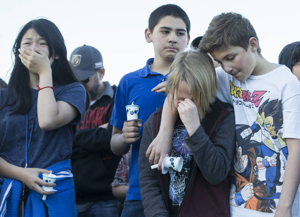 Friends and family mourn the loss of Jonathan Smith, 12, who was struck and killed by a vehicle ...