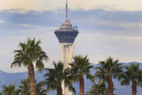 Las Vegas Valley will have warm temperatures with some wind on Thursday. (Bizuayehu Tesfaye/Las ...