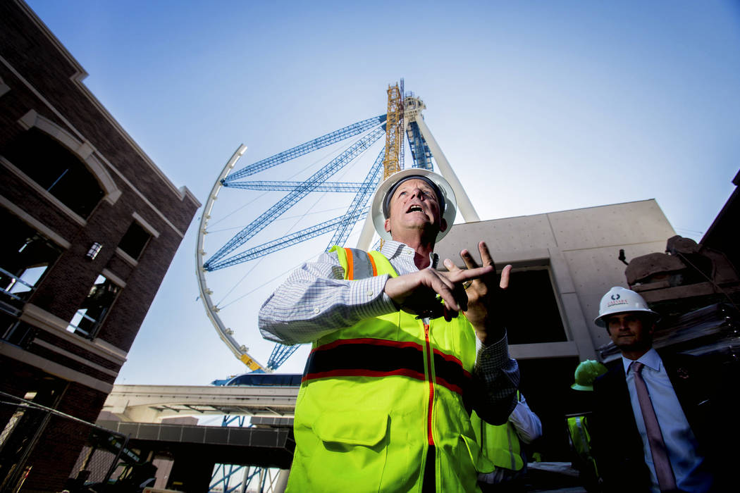 David Codiga, executive project director for The Linq, as seen Tuesday, July 30, 2013 at The Li ...