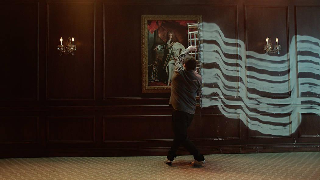 "Jason REVOK featured in the new Palms ""Unstatus Quo"" campaign. (Palms Las Vegas)"