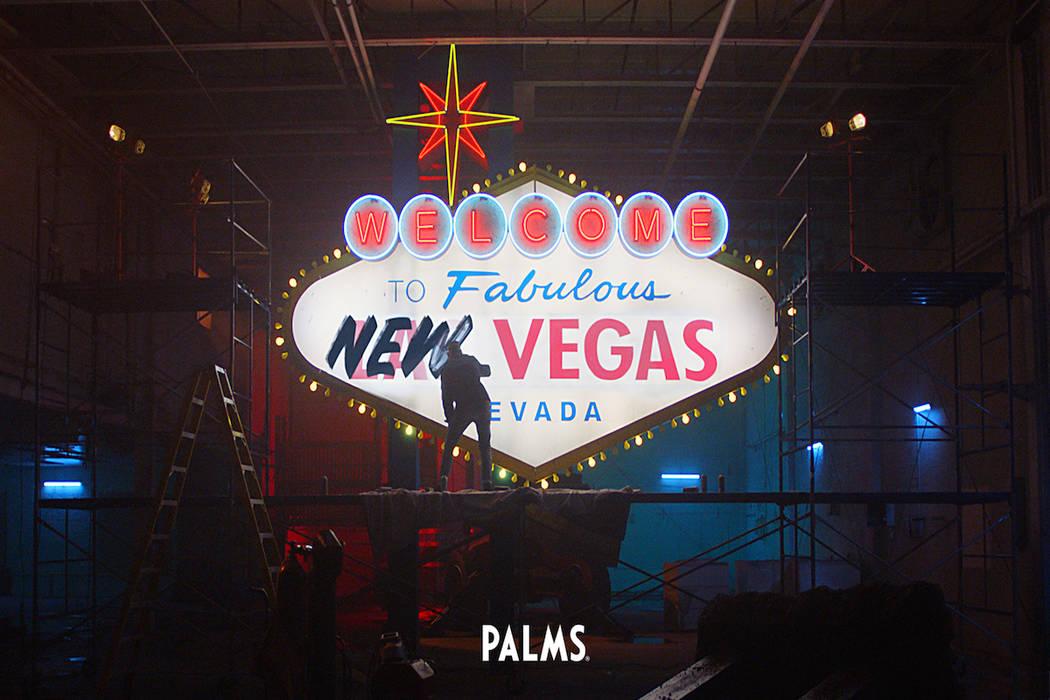 """The Palms new Palms """"Unstatus Quo"""" campaign. (Palms Las Vegas)"""