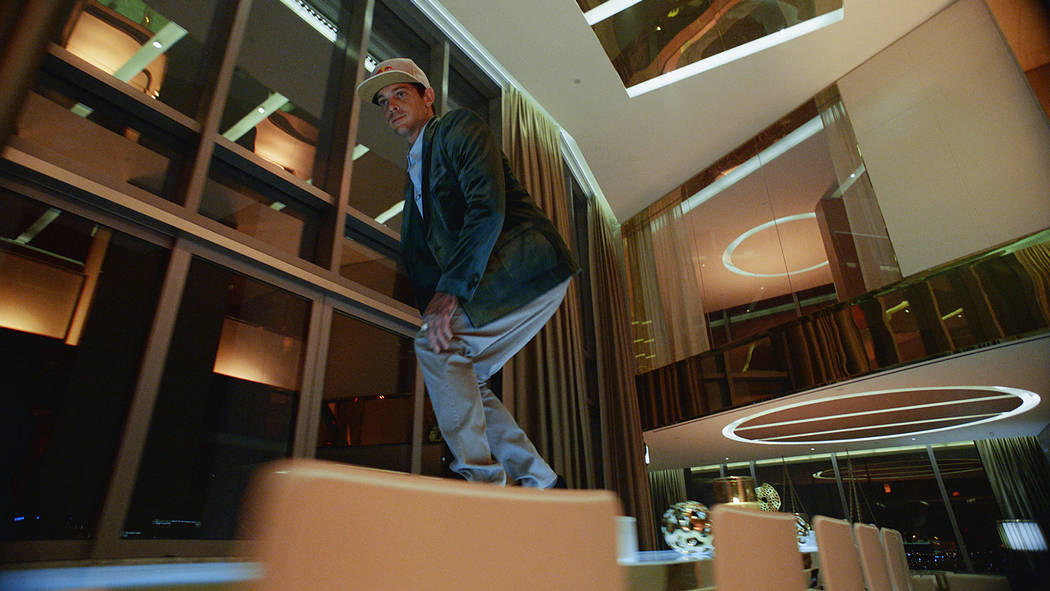 """Ryan Sheckler featured in the new Palms """"Unstatus Quo"""" campaign. (Palms Las Vegas)"""