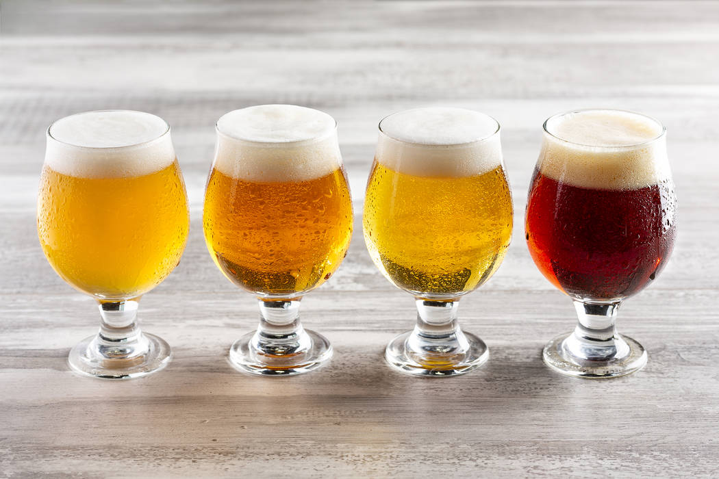 Tenaya Creek Brewery will offer beer flights during Aviators games. (Las Vegas Ballpark/The Ho ...