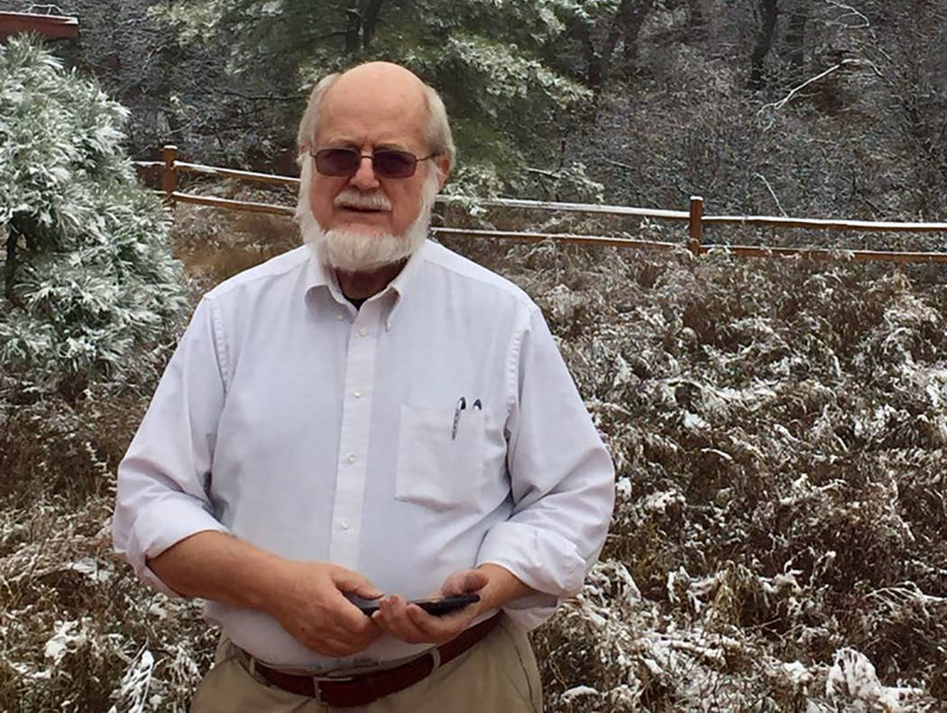 Dr. Thomas Burchard (Courtesy of Judy Earp)