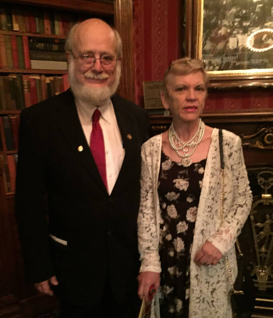 Dr. Thomas Burchard and girlfriend Judy Earp (Courtesy)