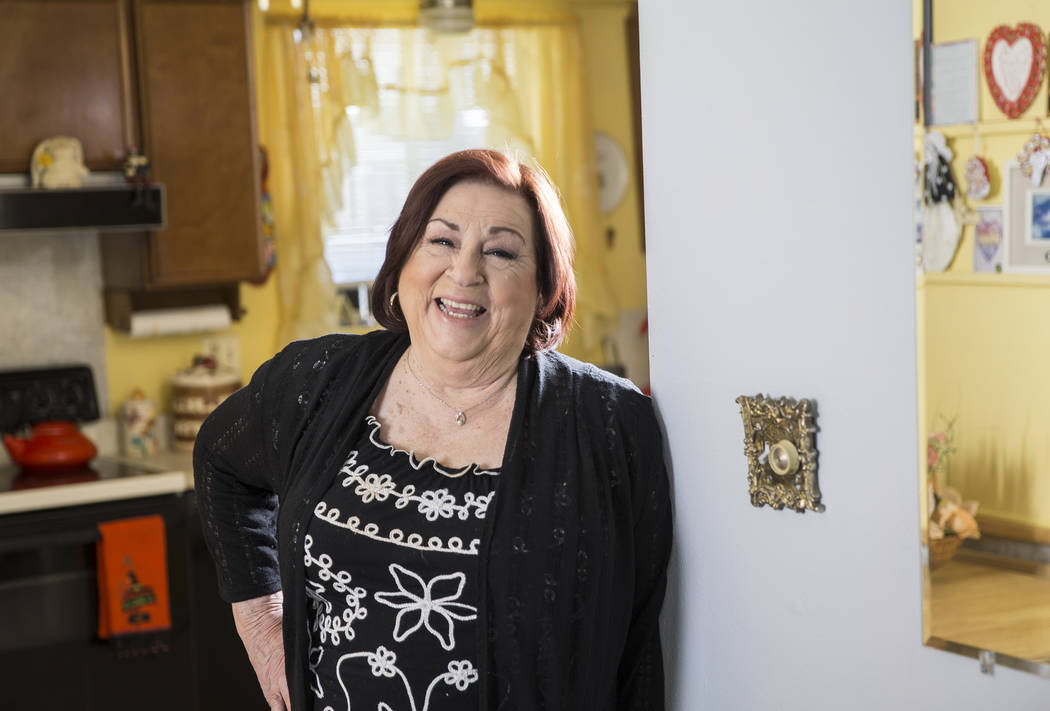 "Concetta Potenza, known as ""Aunt Chippy,"" the aunt of Las Vegas native Jimmy Kimmel, ..."