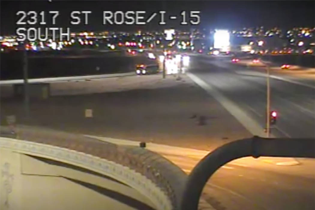 Interstate 15 and St. Rose Parkway on Thursday, March 28, 2019. (RTC)
