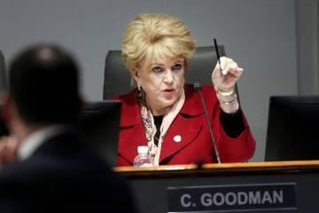 Las Vegas Mayor Carolyn Goodman, board member for the Las Vegas Convention and Visitors Authori ...