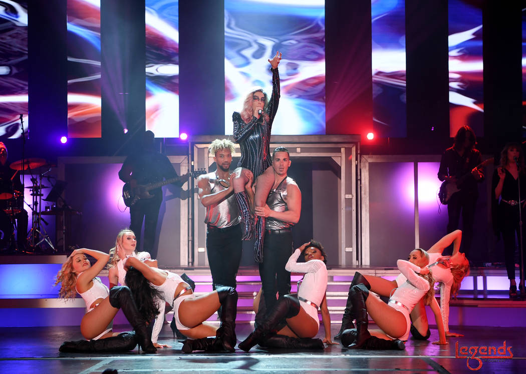"""""""Legends In Concert"""" is shown during its premiere at Tropicana Las Vegas on Wednesday, March 29 ..."""
