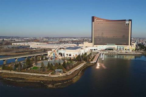 Las Vegas-based Wynn Resorts Ltd. plans to open the $2.6 billion Encore Boston Harbor in June i ...