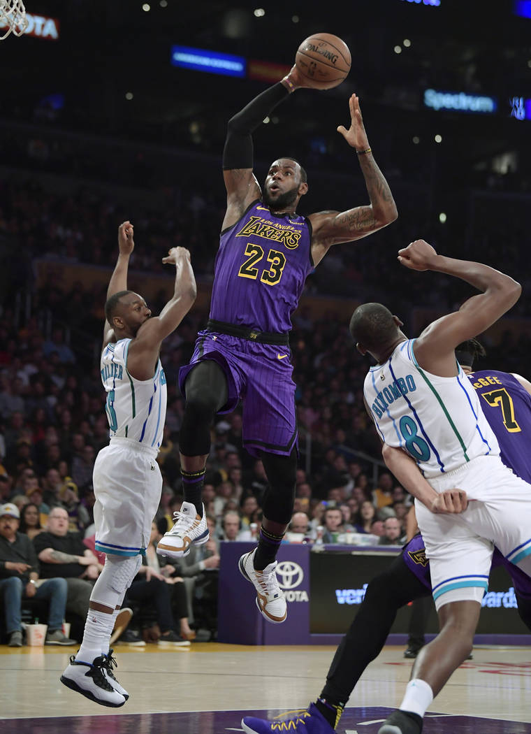 LeBron James to sit out rest of season for Lakers   Las ...