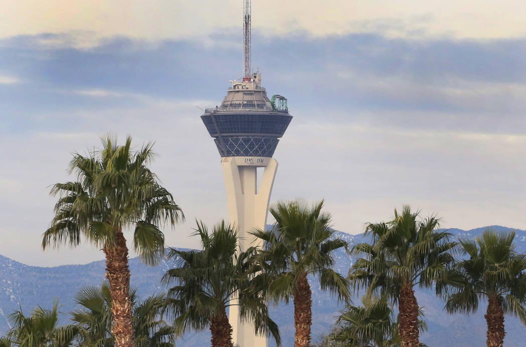 Las Vegas Valley will have warm temperatures with some breeze this week. (Bizuayehu Tesfaye/Las ...