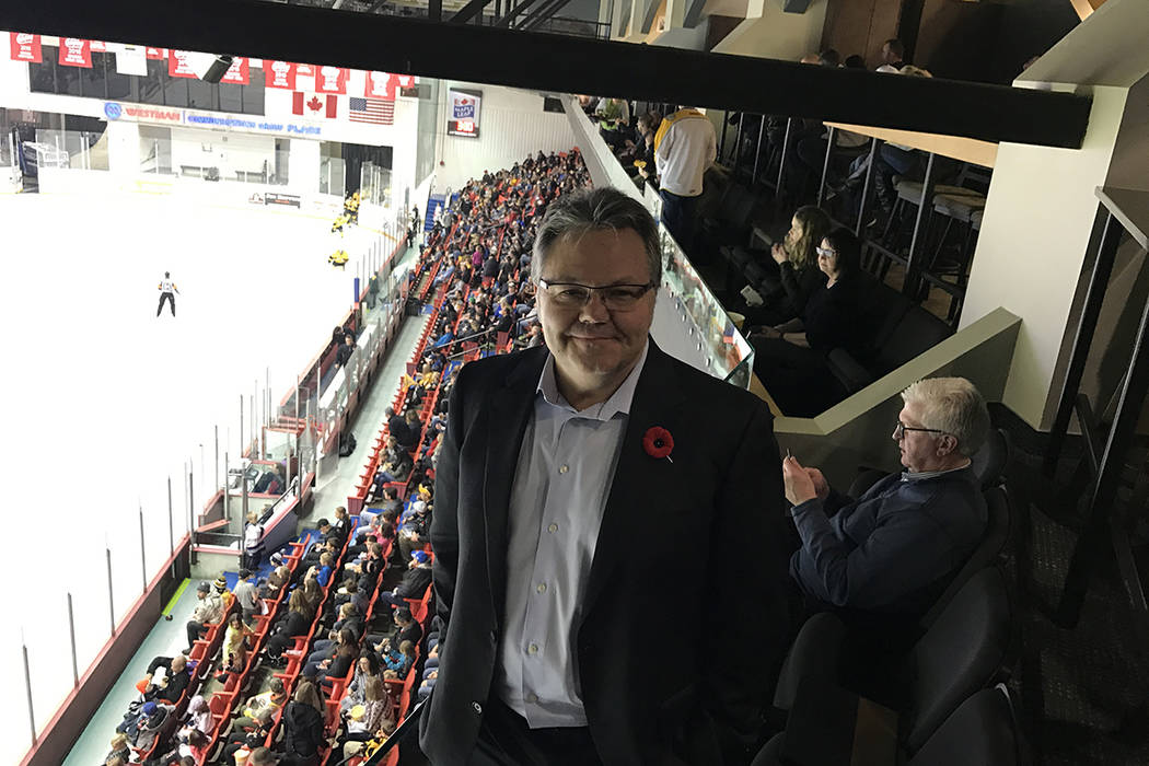 Las Vegas assistant general manager Kelly McCrimmon is also the owner of the Brandon Wheat King ...