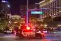Las Vegas police officer, suspect shot after Bellagio robbery — VIDEO