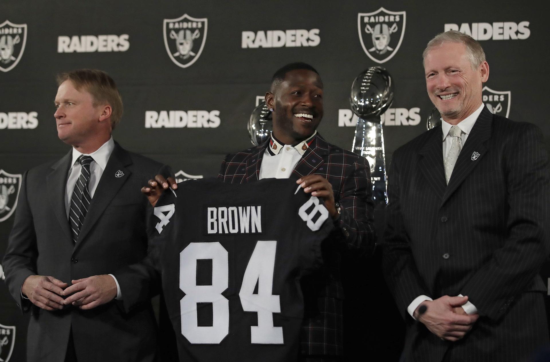 Raiders Deal For Wr Antonio Brown Developed In Las Vegas Video Las Vegas Review Journal