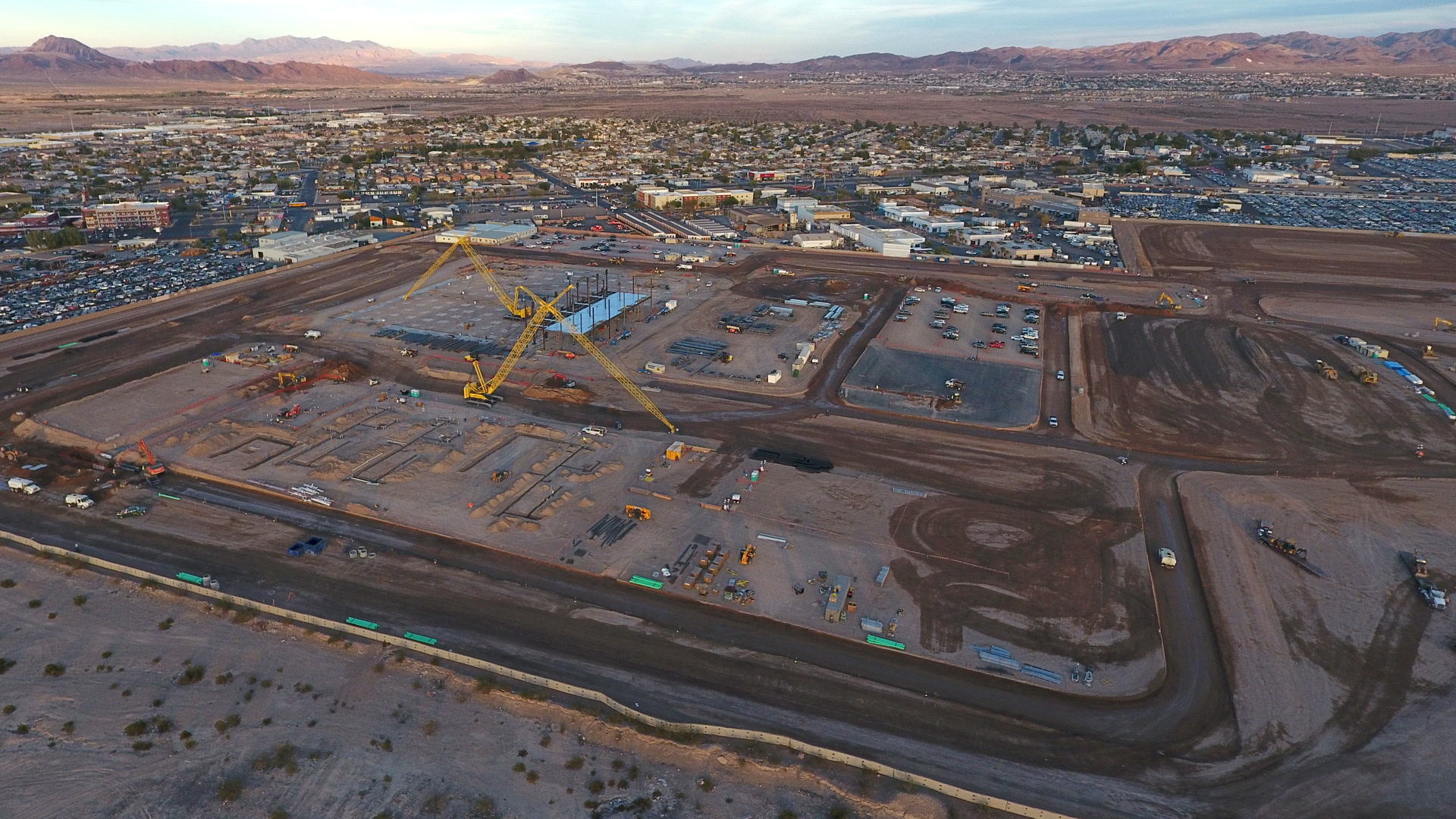 Google Data Center Site Taking Shape In Henderson Video