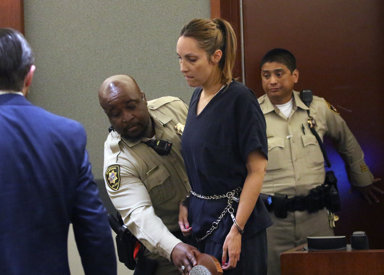 Judge Revokes Bail For Las Vegas Lawyer Alexis Plunkett