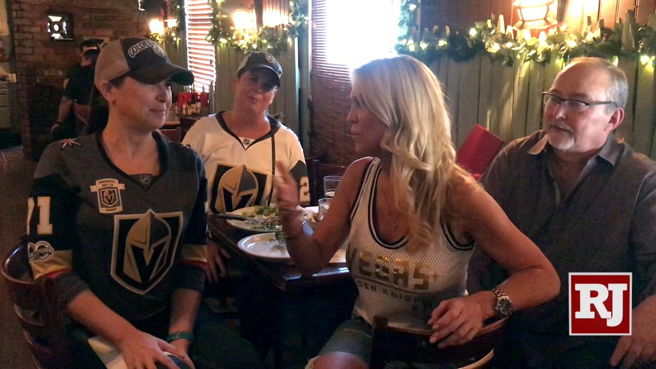 Golden Knights fans make trek to San Jose for Game 5 — VIDEO