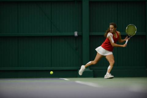 Anna Bogoslavets, shown in 2016, won the decisive match in UNLV's division-clinching 4-3 victor ...