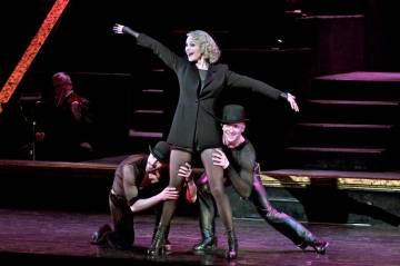 Christie Brinkley stars as Roxie Hart in Broadway's Tony Award-winning hit musical CHICAGO at t ...