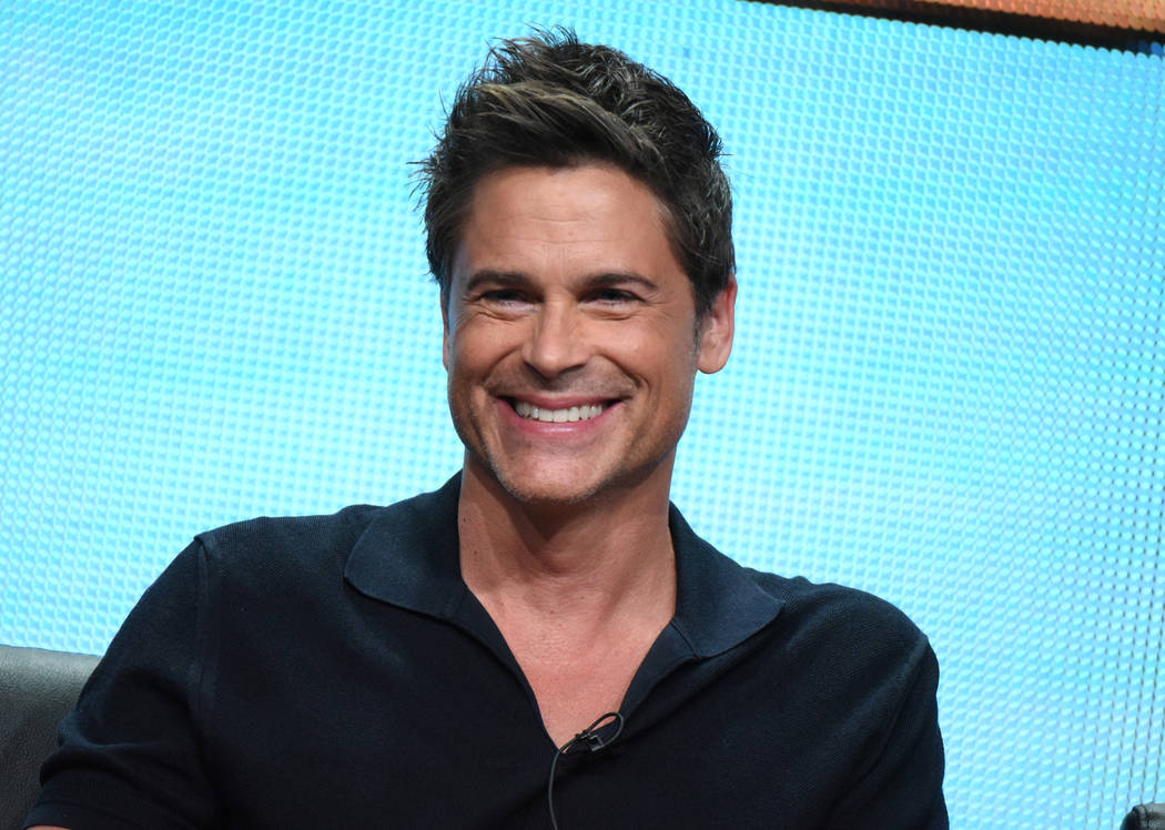 "Rob Lowe participates in ""The Grinder"" panel at the Fox Summer TCA Tour at the Beverl ..."