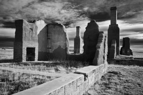 Commanding Officers Quarters at Fort Union National Monument in New Mexico (Cody Brothers)