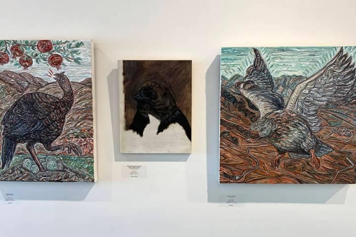 Priscilla Fowler Fine Art present artists Gig Depio and Darren Johnson in an exhibit of birds t ...