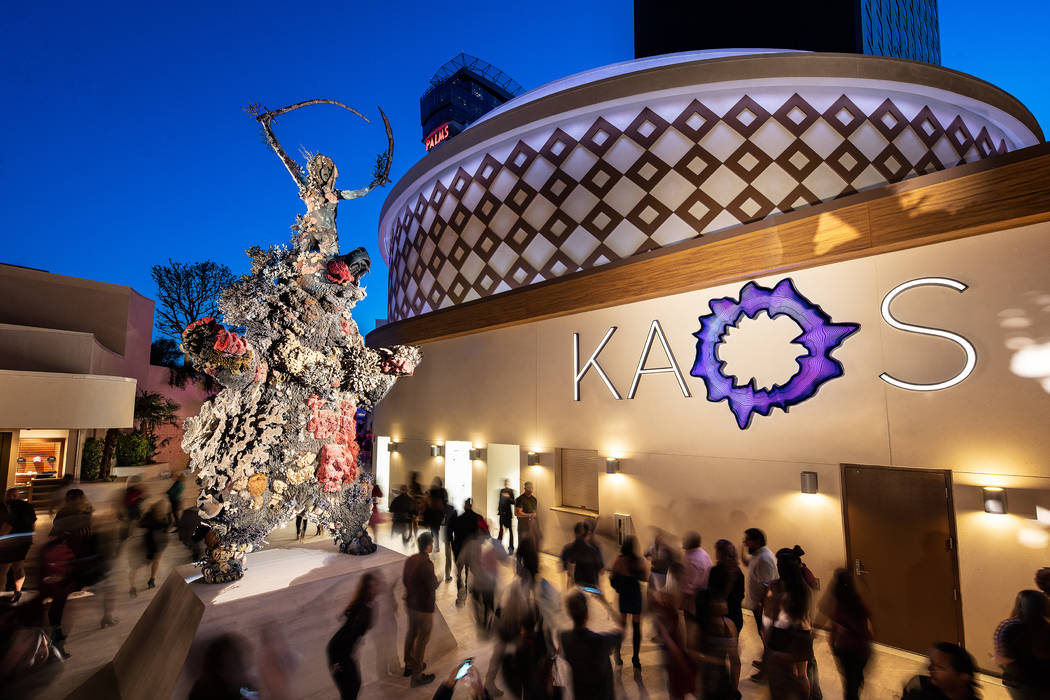 Kaos' debut is the first mega-club opening in Las Vegas since Omnia Nightclub at Caesars Palace ...