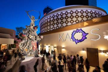 Kaos' debut is the first mega-club opening in Las Vegas since Omnia Nightclub at Caesars Palace ...