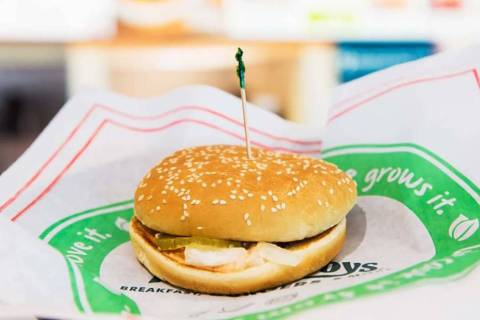 """Farmer Boys is offering the """"Burgerless Burger"""" today. (Farmer Boys)"""