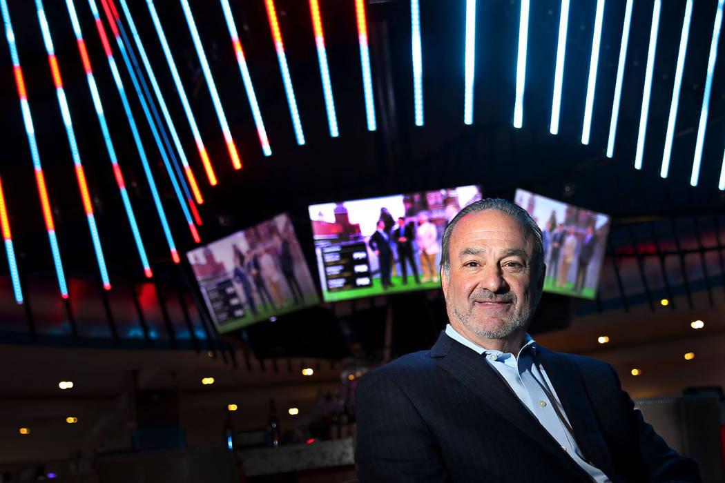 "Hard Rock CEO Richard ""Boz"" Bosworth at the Las Vegas hotel, Thursday, June 14, 2018. ..."