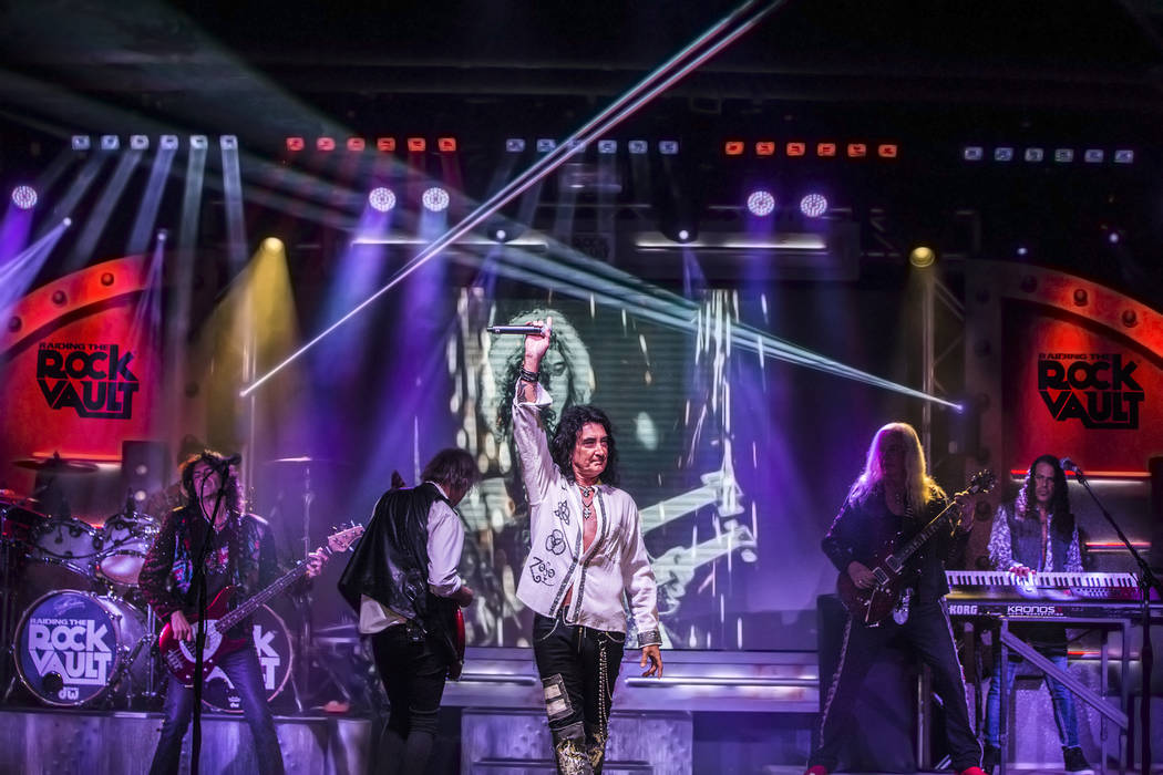 'Raiding the Rock Vault' classic rock revue on Monday, May 1, 2017, at the Hard Rock hotel-casi ...