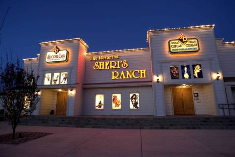 The Resort at Sheri's Ranch brothel in Pahrump is shown in this 2005 file photo. (K.M. Cannon/L ...