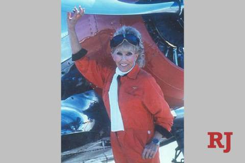 Marie McMillan, Nevada aviation pioneer and member of the Nevada Aerospace Hall of Fame, died M ...