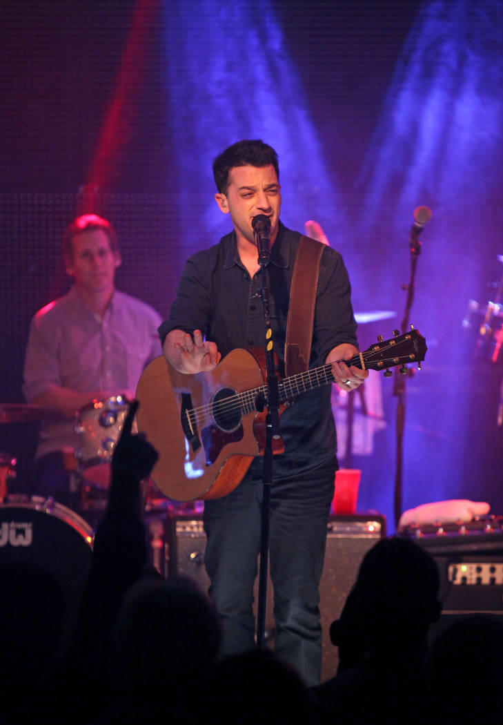 IMAGE DISTRIBUTED FOR PARK CITY LIVE - Marc Roberge of O.A.R. performs onstage at Park City Liv ...