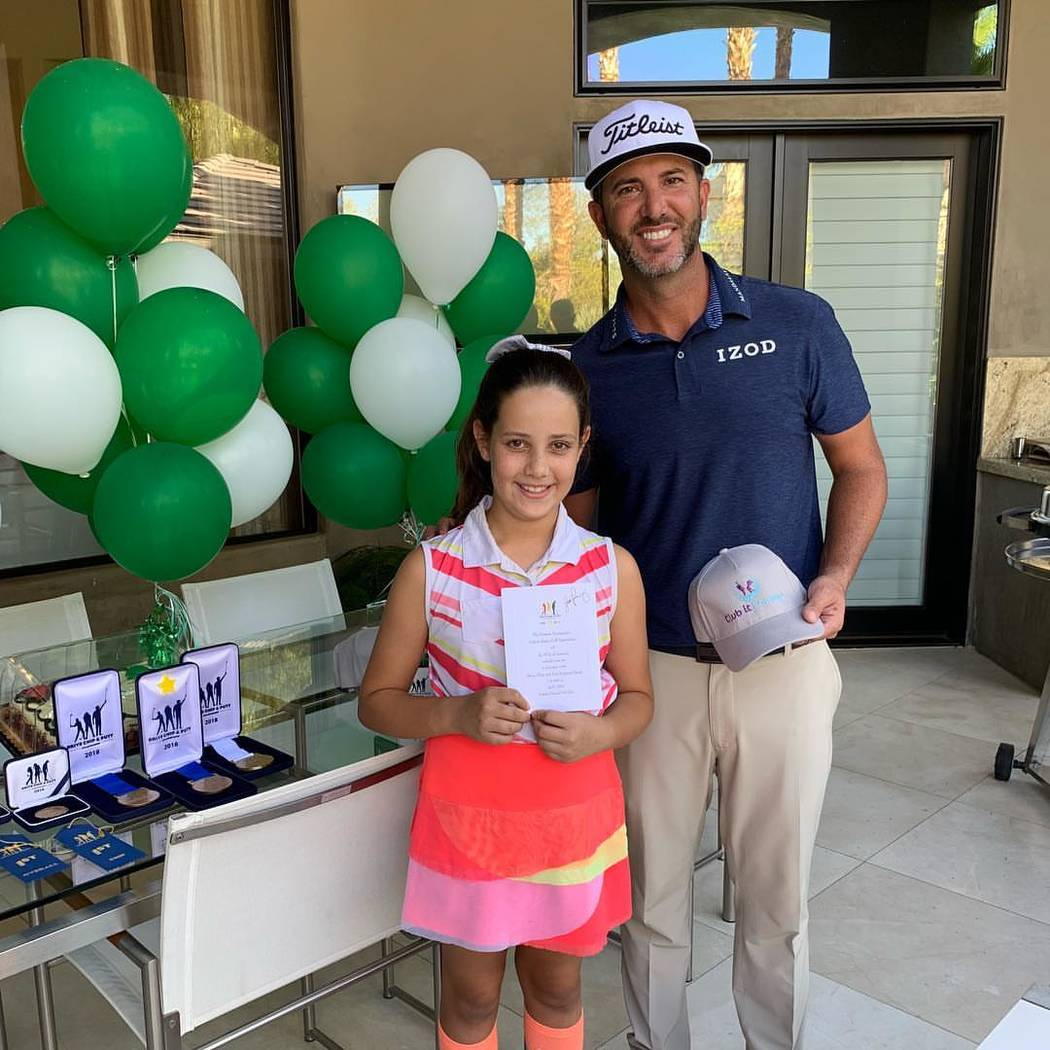 Milan Norton received her official Drive, Chip and Putt invitation to Augusta National as part ...