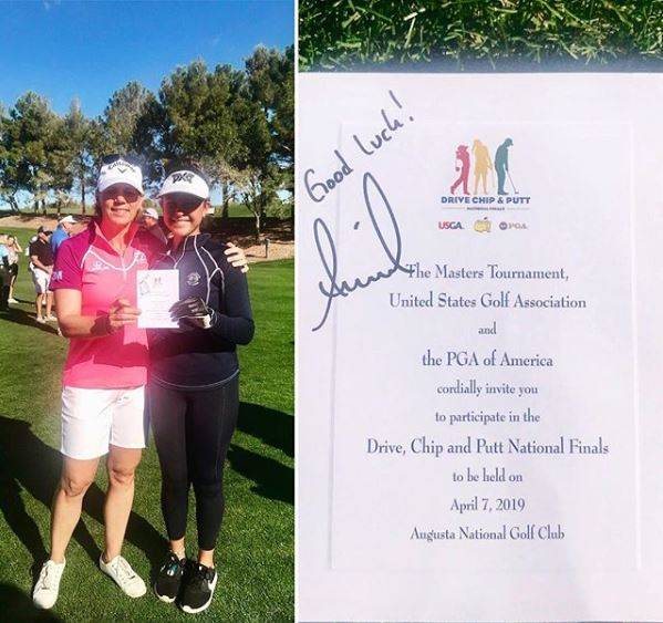Yana Wilson was recognized for qualifying for the Drive, Chip and Putt finals by LPGA Tour hall ...