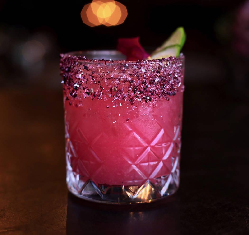 "The ""Vanderpink Margarita"" cocktail at Vanderpump Cocktail Garden at Caesars Palace. (Caesars E ..."
