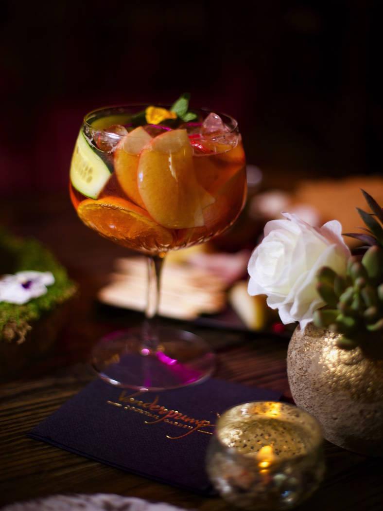 "The ""Primms"" cocktail at Vanderpump Cocktail Garden at Caesars Palace. (Caesars Entertainment)"