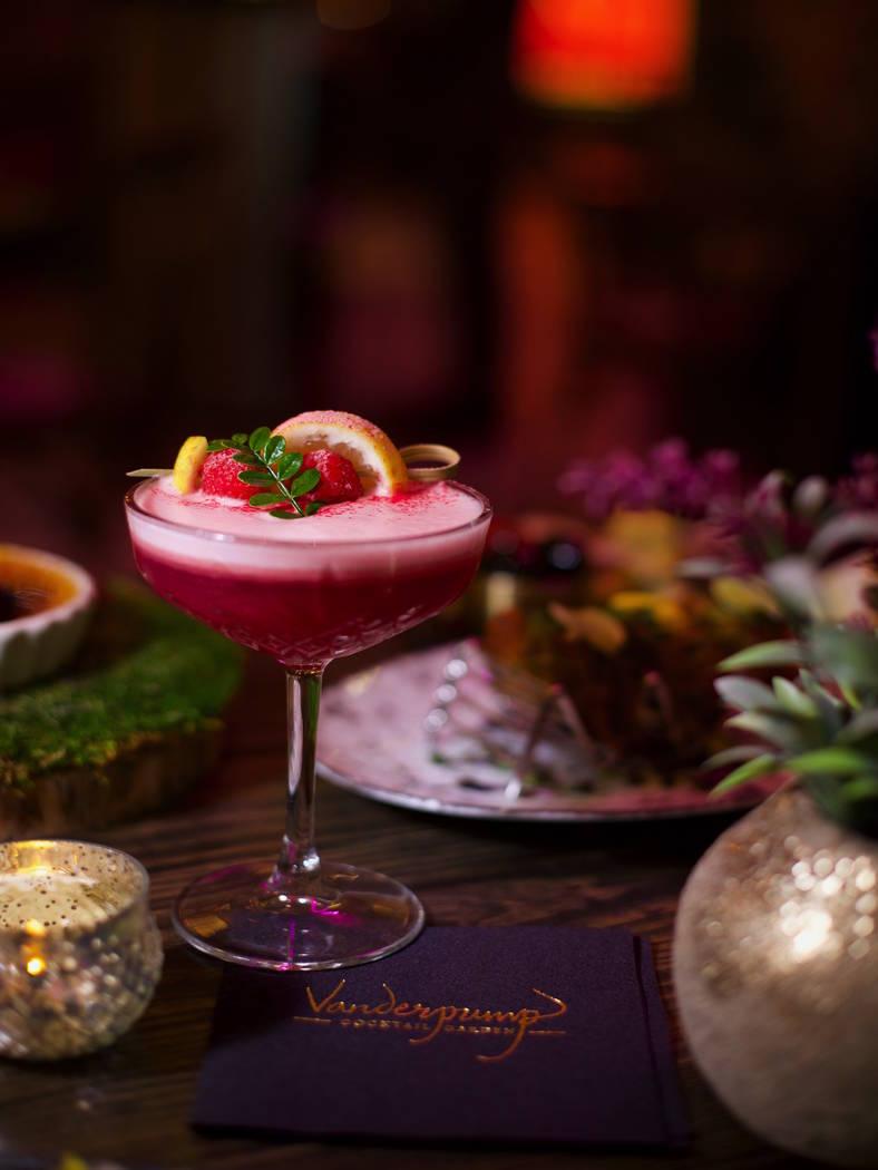 "The ""Velveteen Rabbit"" cocktail at Vanderpump Cocktail Garden at Caesars Palace. (Caesars Enter ..."