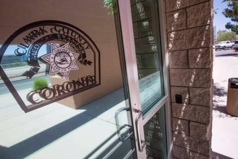 Clark County Coroner (Richard Brian/Las Vegas Review-Journal @vegasphotograph)