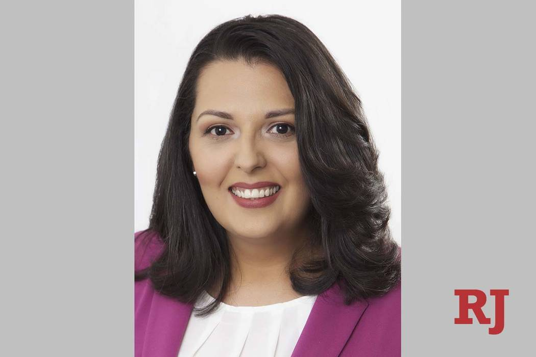 With early results being counted, former Assemblywoman Olivia Diaz led a tight race for the Las ...