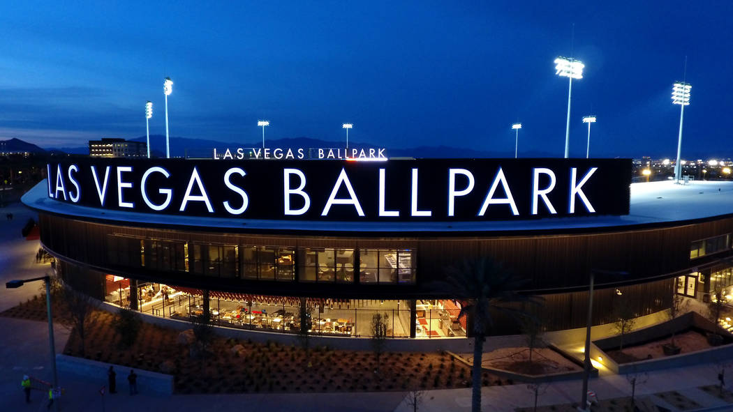 The Las Vegas Ballpark® in Downtown Summerlin, home of the Las Vegas Aviators® Triple ...