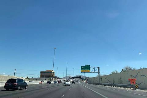 U.S. Highway 95 will be reduced to one lane in each direction from 10 p.m. Friday until 5 a.m. ...