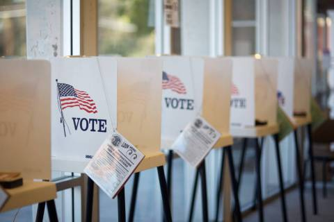 Voting booths (Getty Images)