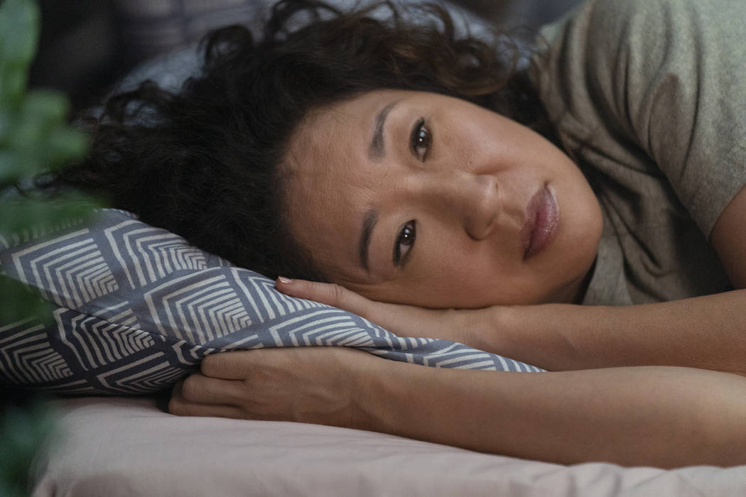 Sandra Oh as Eve Polastri - Killing Eve _ Season 2, Episode 1 - Photo Credit: Aimee Spinks ...