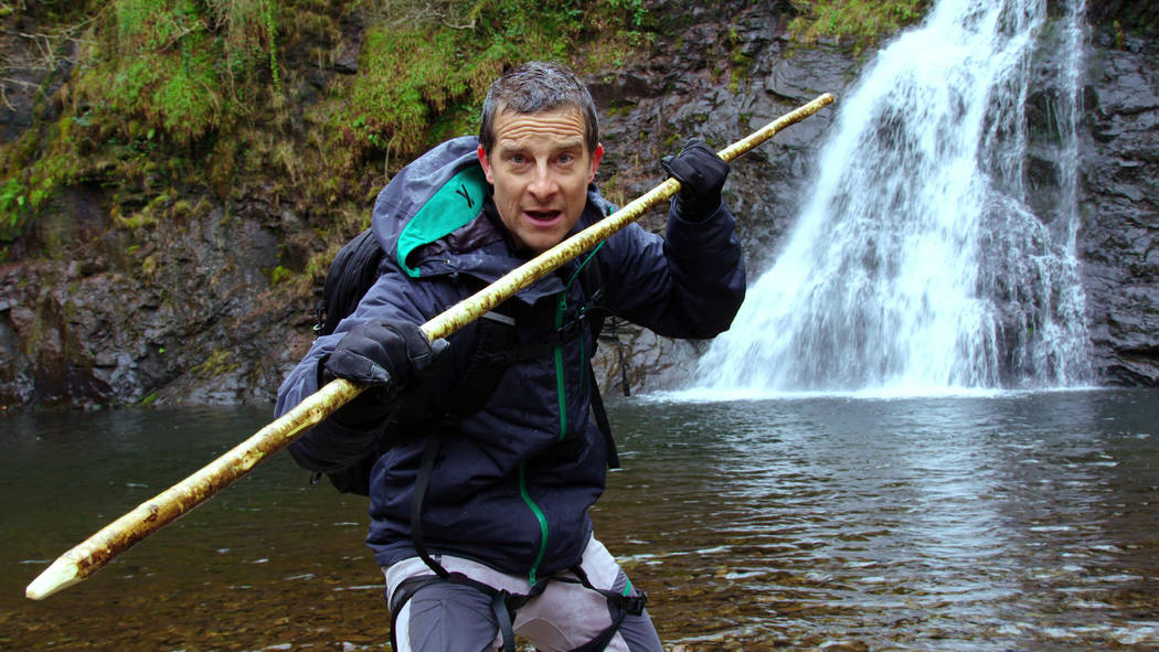 "Bear Grylls in ""You vs. Wild"" (Netflix)"