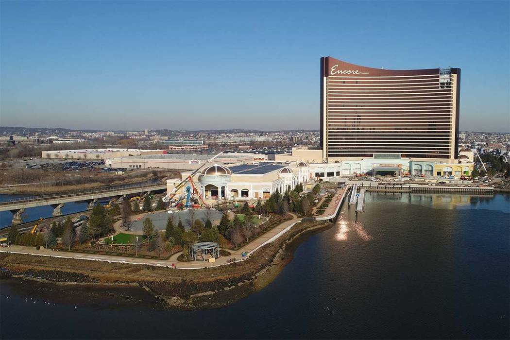 Las Vegas-based Wynn Resorts Ltd. plans to open the $2.6 billion Encore Boston Harbor in June i ...