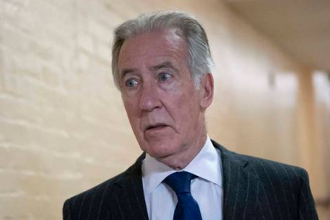 House Ways and Means Committee Chairman Richard Neal, D-Mass., arrives for a Democratic Caucus ...