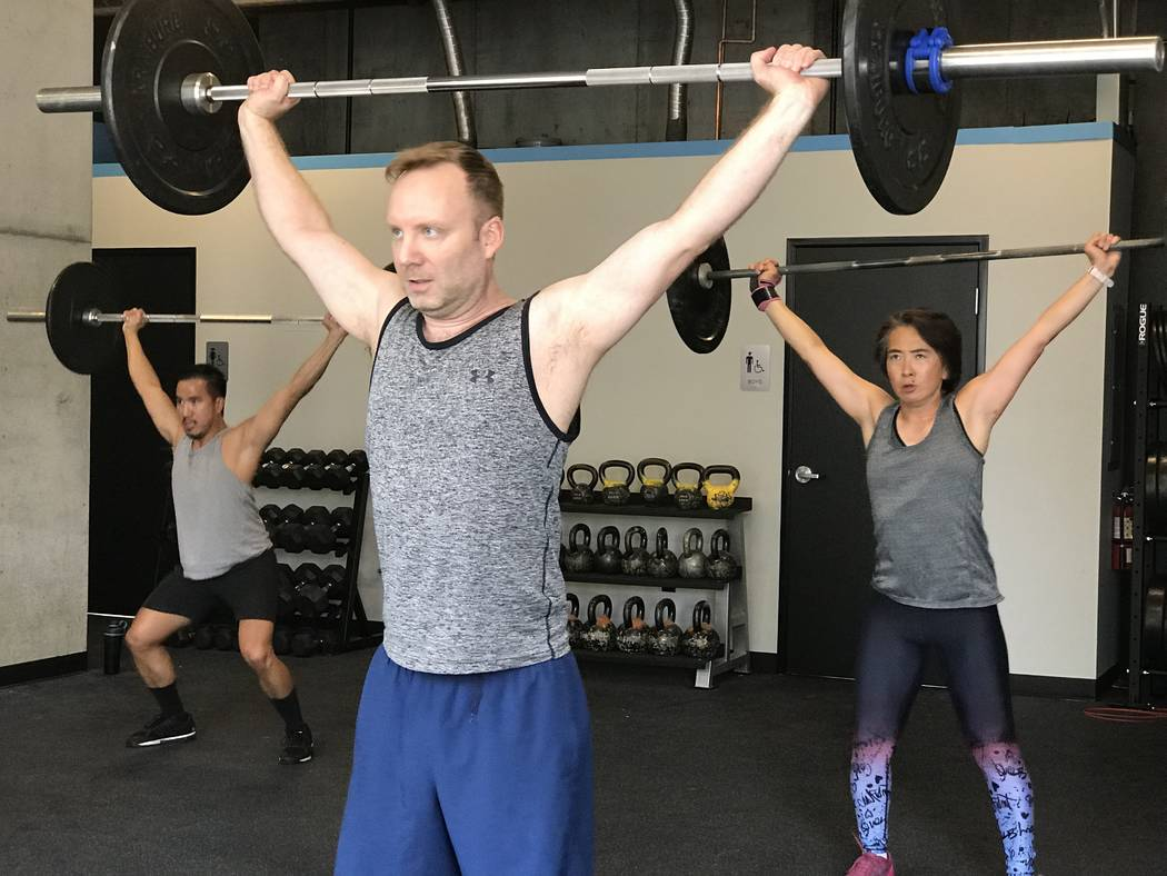 The 24-hour CrossFit gym has opened in downtown Las Vegas at The Promenade at Juhl, a 344–res ...